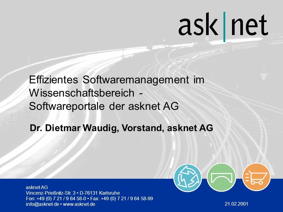 Effizientes Softwaremanagement im Wissenschaftsbereich -