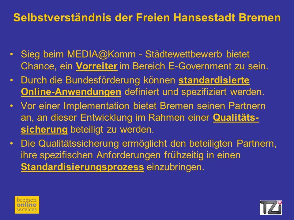 Selbstverständnis der Freien Hansestadt Bremen