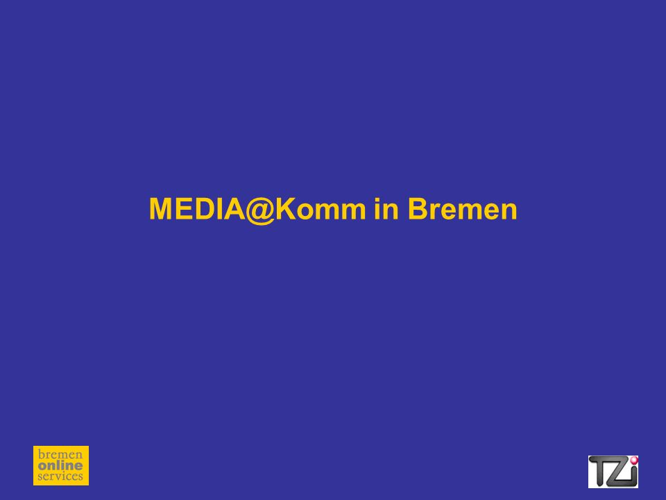 MEDIA@Komm in Bremen