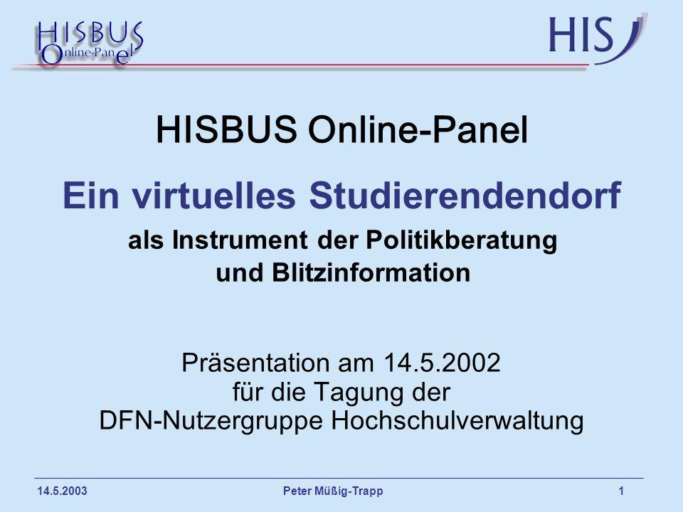 Ein virtuelles Studierendendorf als Instrument der Politikberatung