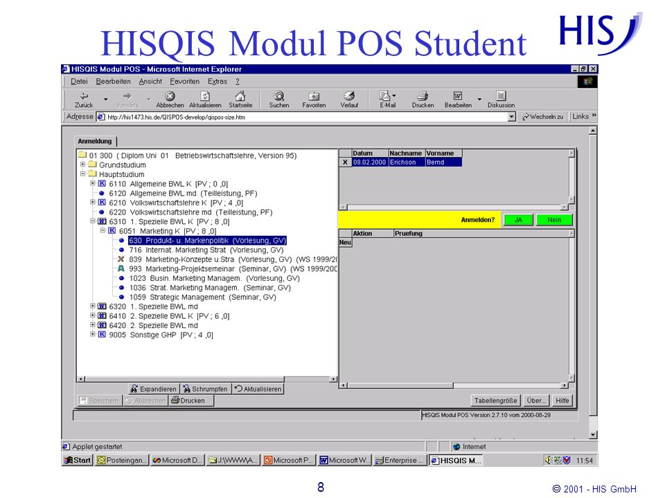 HISQIS Modul POS Student
