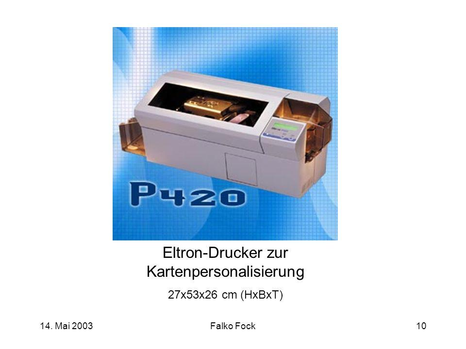Eltron-Drucker zur Kartenpersonalisierung