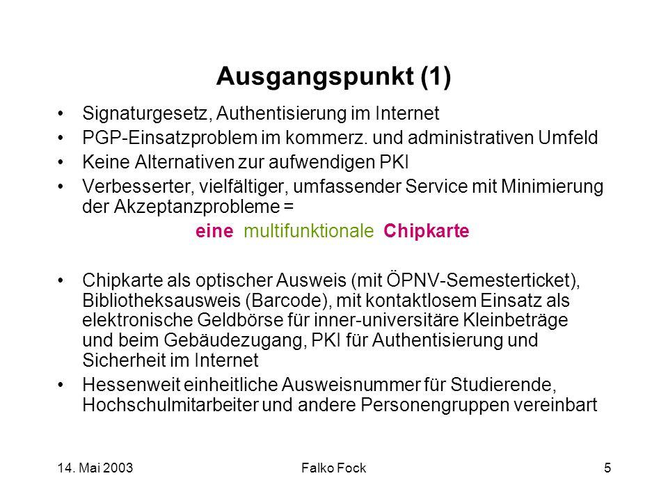 Ausgangspunkt (1) Signaturgesetz, Authentisierung im Internet