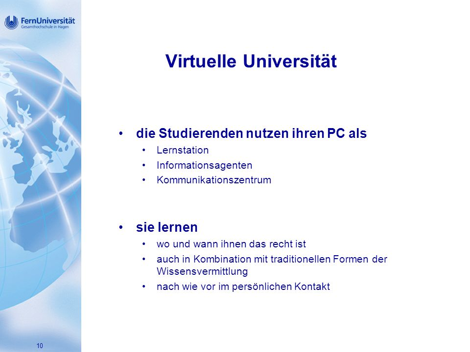 Virtuelle Universität