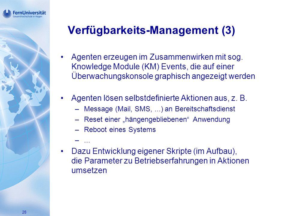 Verfügbarkeits-Management (3)