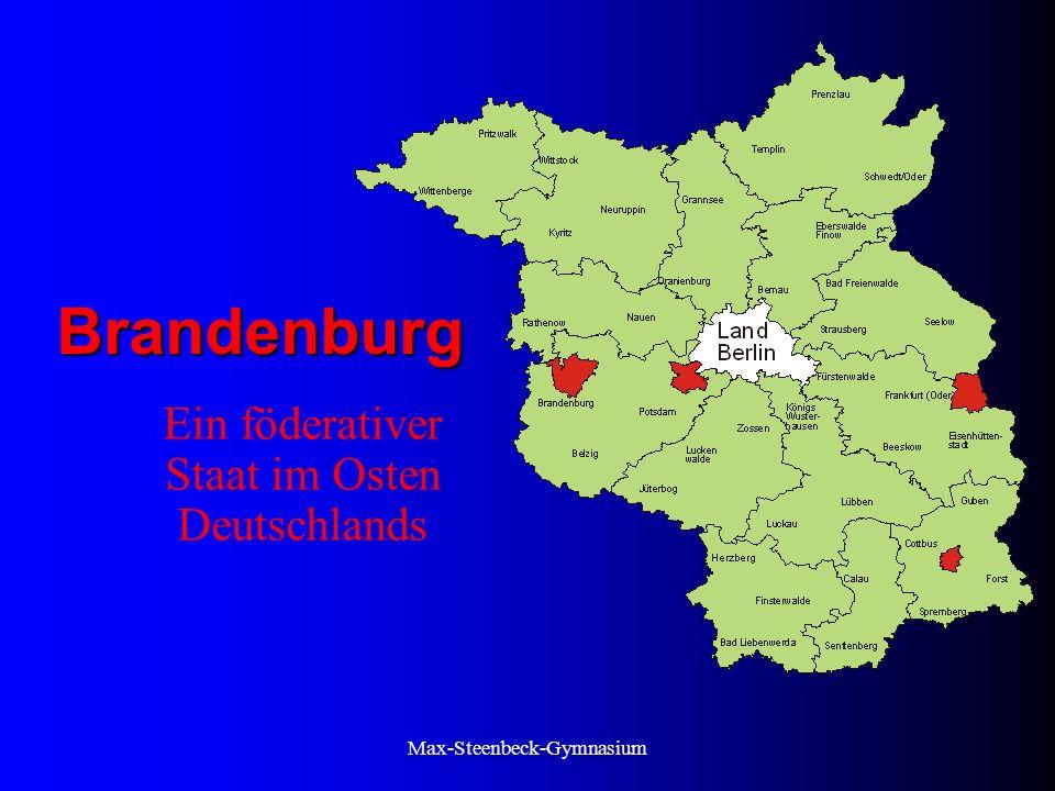 Ein föderativer Staat im Osten Deutschlands