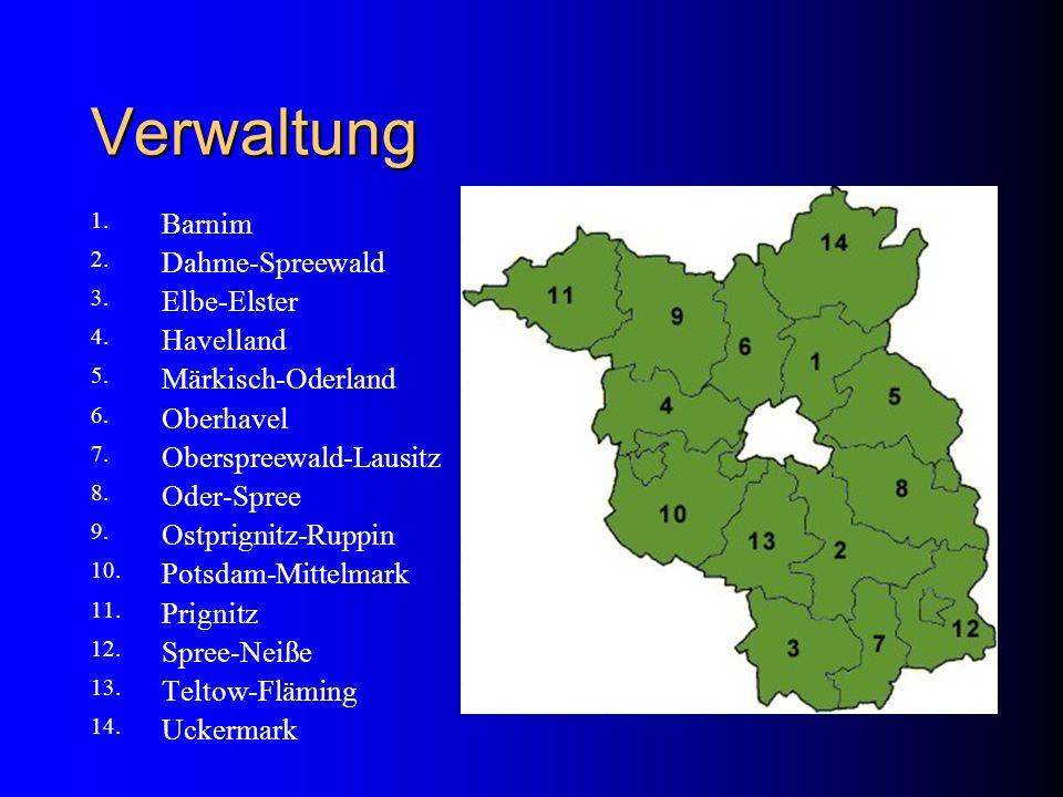 Verwaltung Barnim Dahme-Spreewald Elbe-Elster Havelland