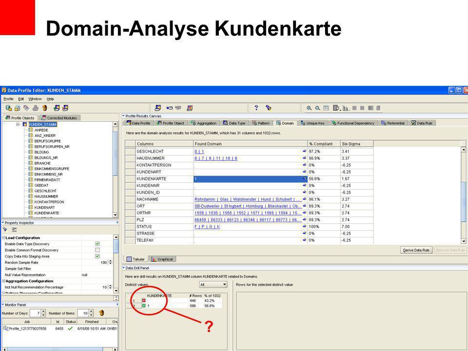 Domain-Analyse Kundenkarte