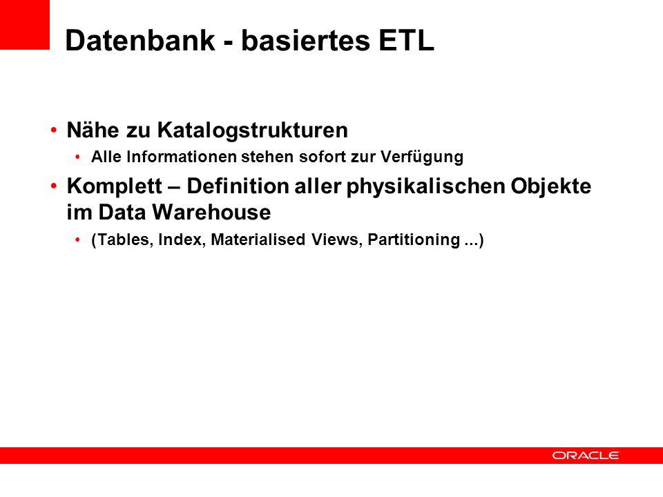 Datenbank - basiertes ETL