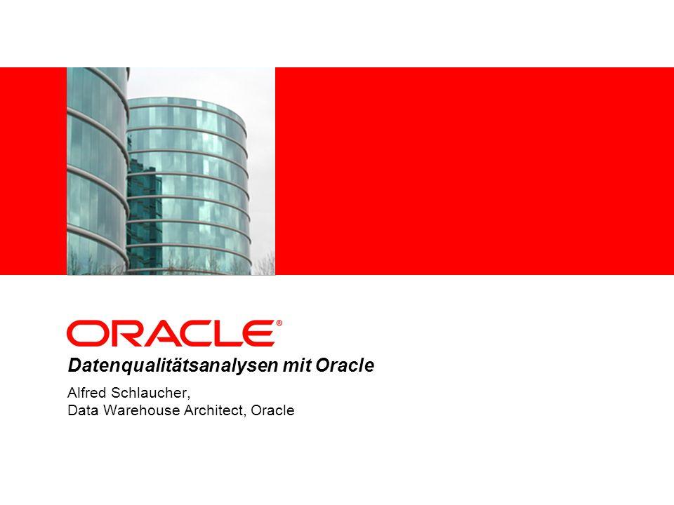 Datenqualitätsanalysen mit Oracle