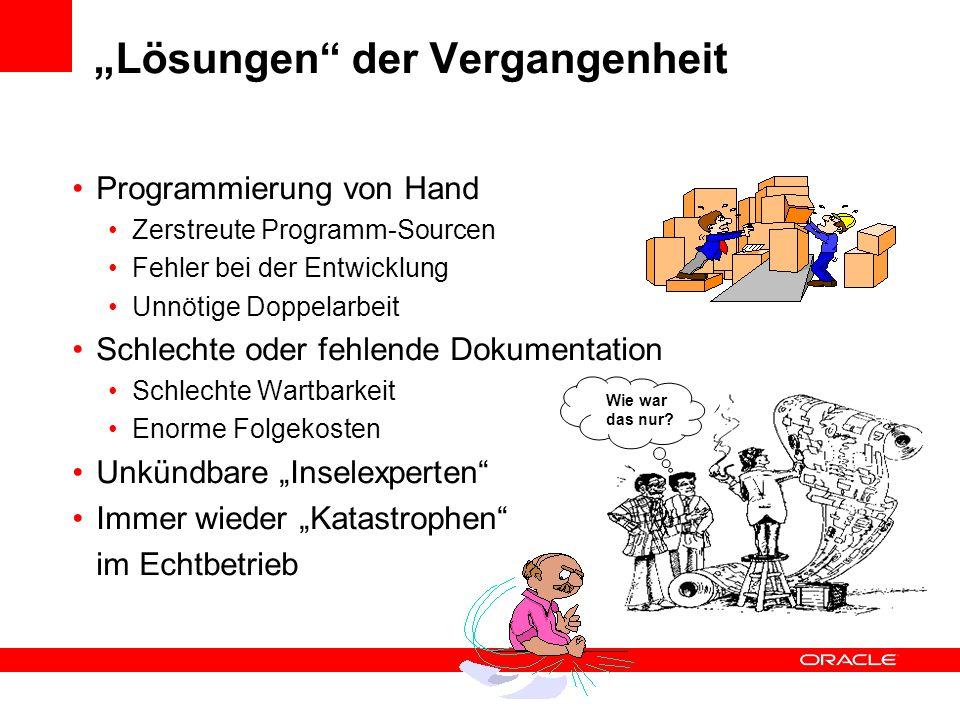 """""""Lösungen der Vergangenheit"""