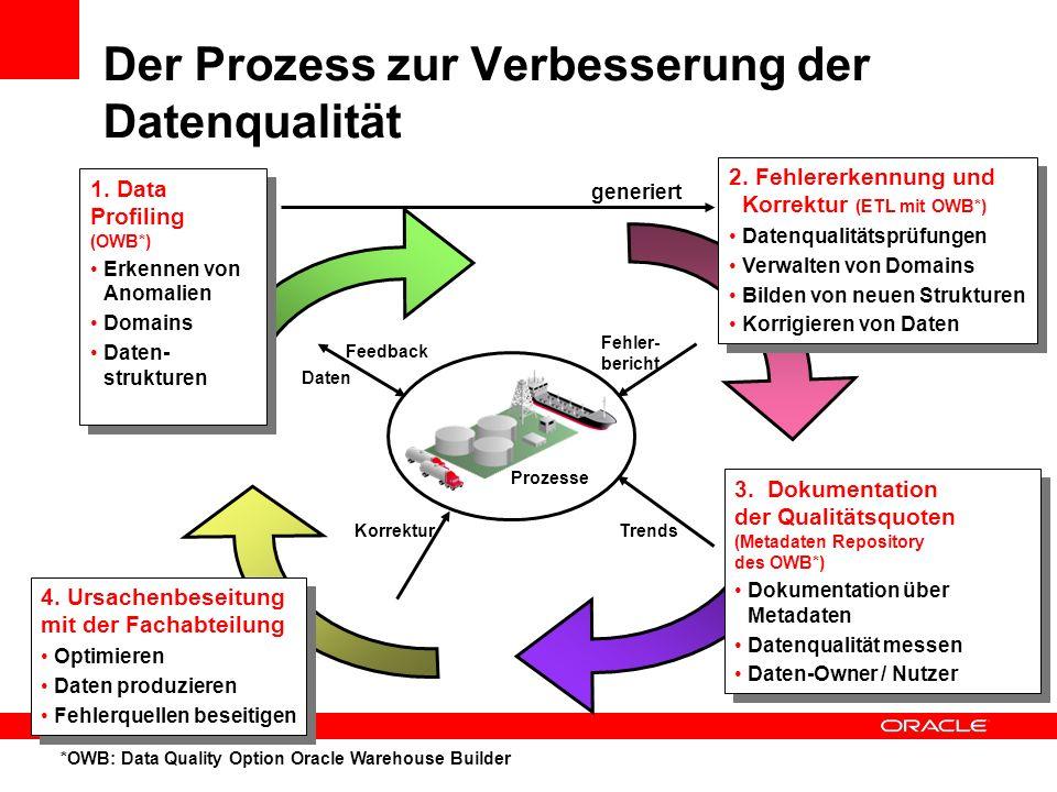 Der Prozess zur Verbesserung der Datenqualität