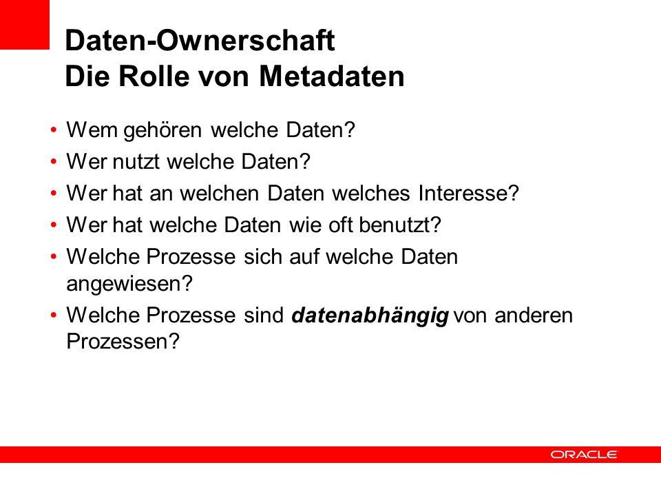 Daten-Ownerschaft Die Rolle von Metadaten