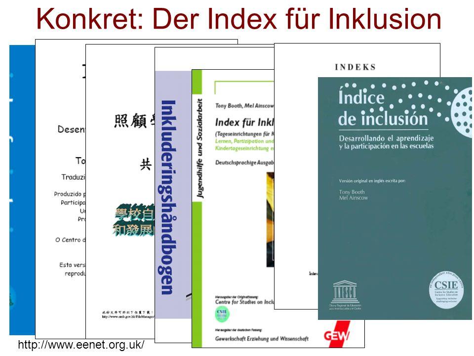 Konkret: Der Index für Inklusion