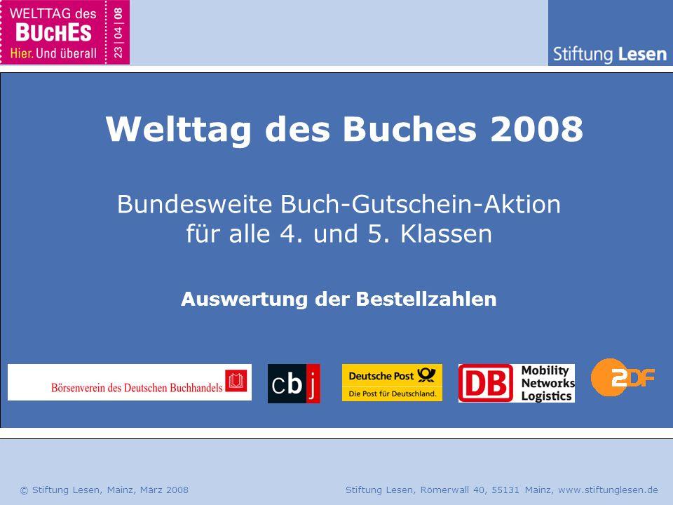 Bundesweite Buch-Gutschein-Aktion für alle 4. und 5. Klassen