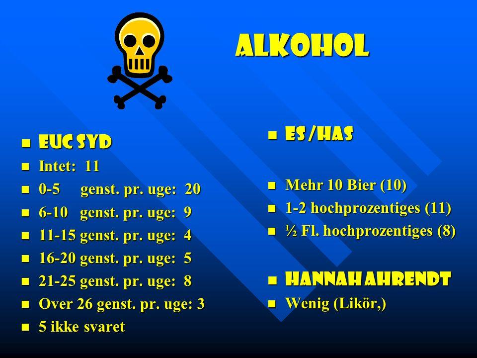 Alkohol ES /Has EUC Syd Hannah Ahrendt Intet: 11 Mehr 10 Bier (10)