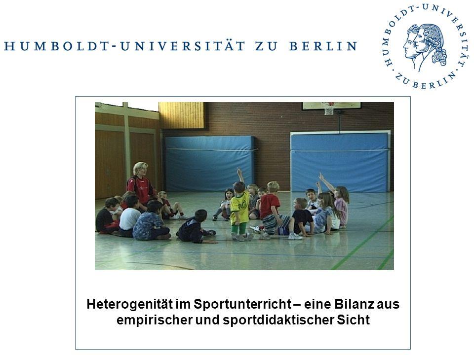 Heterogenität im Sportunterricht – eine Bilanz aus empirischer und sportdidaktischer Sicht