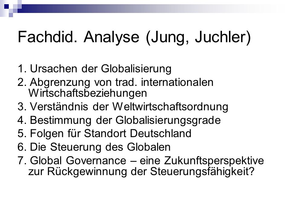 Fachdid. Analyse (Jung, Juchler)