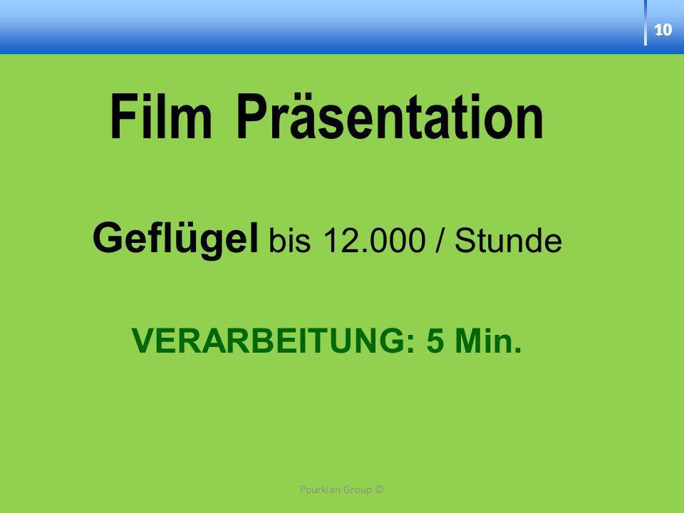 Film Präsentation Geflügel bis 12.000 / Stunde VERARBEITUNG: 5 Min. 10