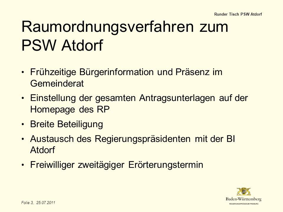 Raumordnungsverfahren zum PSW Atdorf