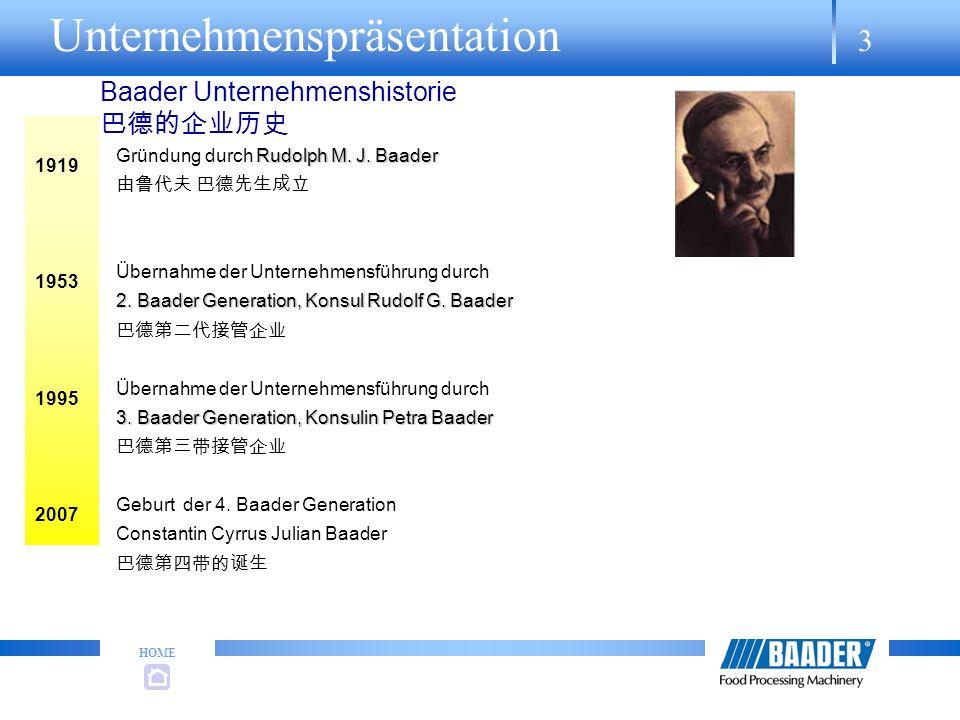 Baader Unternehmenshistorie 巴德的企业历史