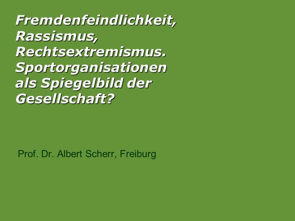 Prof. Dr. Albert Scherr, Freiburg
