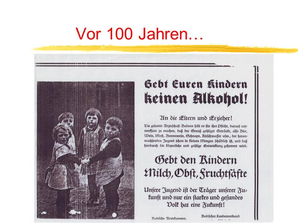 Vor 100 Jahren…