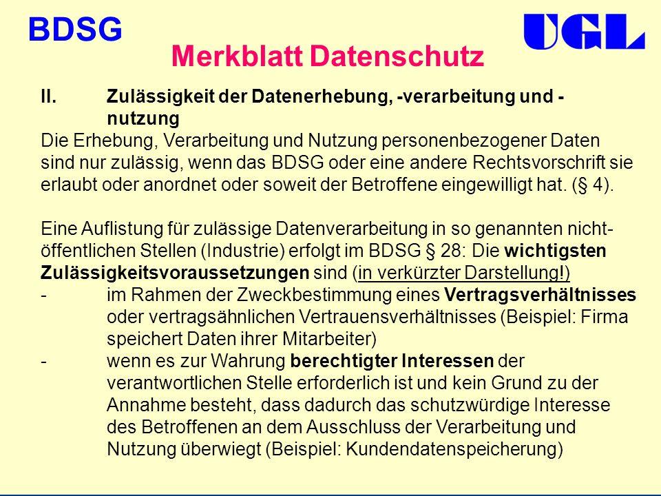 Paragraph 28 datenschutzgesetz