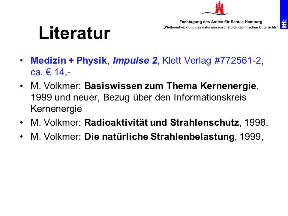 Literatur Medizin + Physik, Impulse 2, Klett Verlag #772561-2, ca. € 14,-