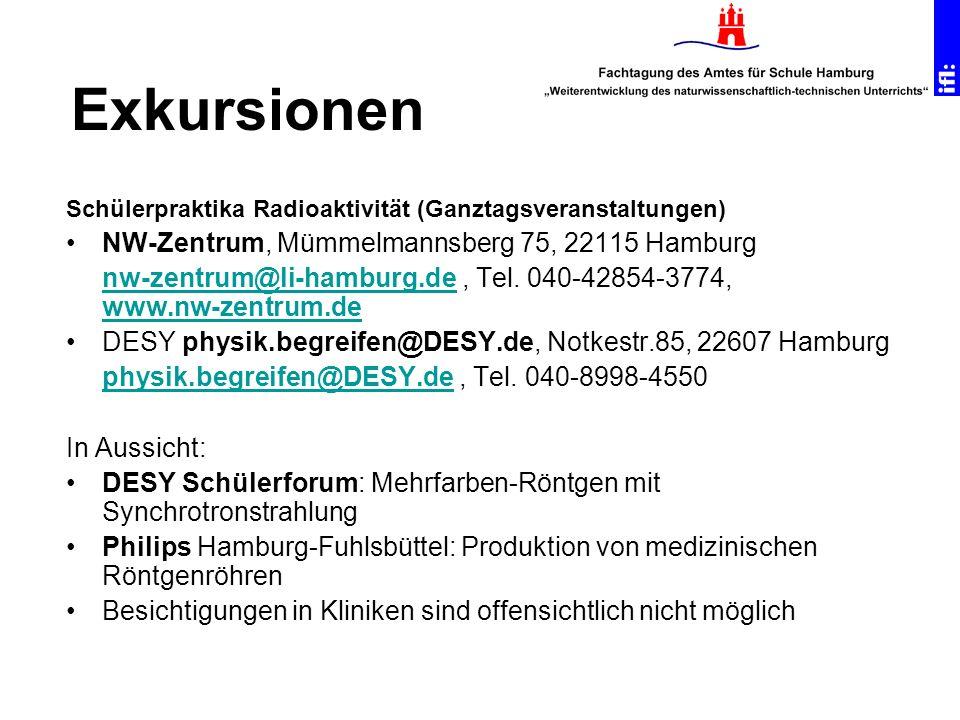 Exkursionen NW-Zentrum, Mümmelmannsberg 75, 22115 Hamburg