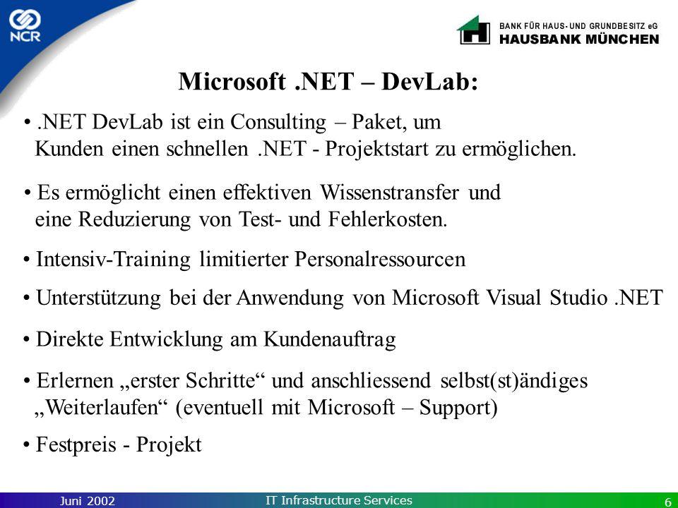 Microsoft .NET – DevLab: