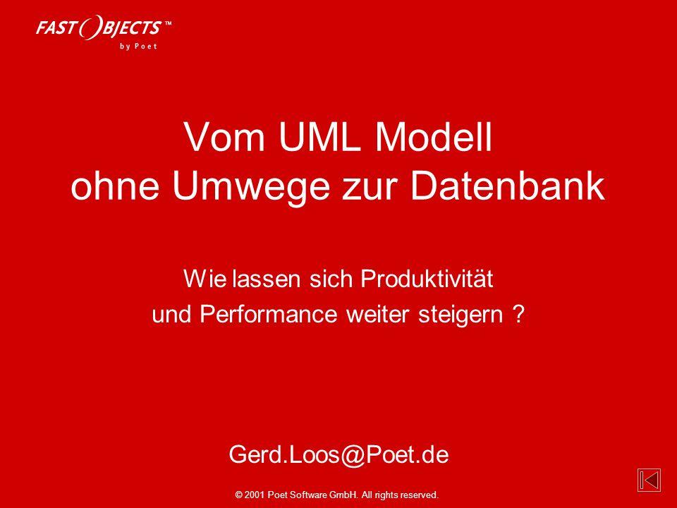 Vom UML Modell ohne Umwege zur Datenbank