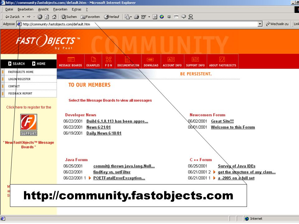 http://community.fastobjects.com