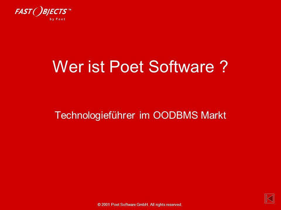 Technologieführer im OODBMS Markt