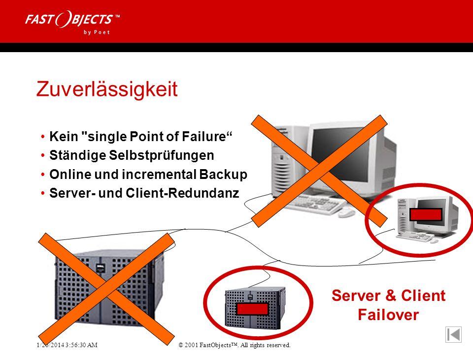 Zuverlässigkeit Server & Client Failover