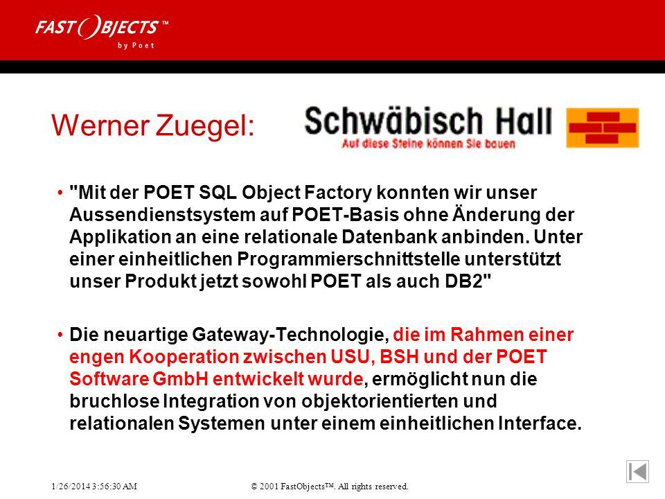 Werner Zuegel: