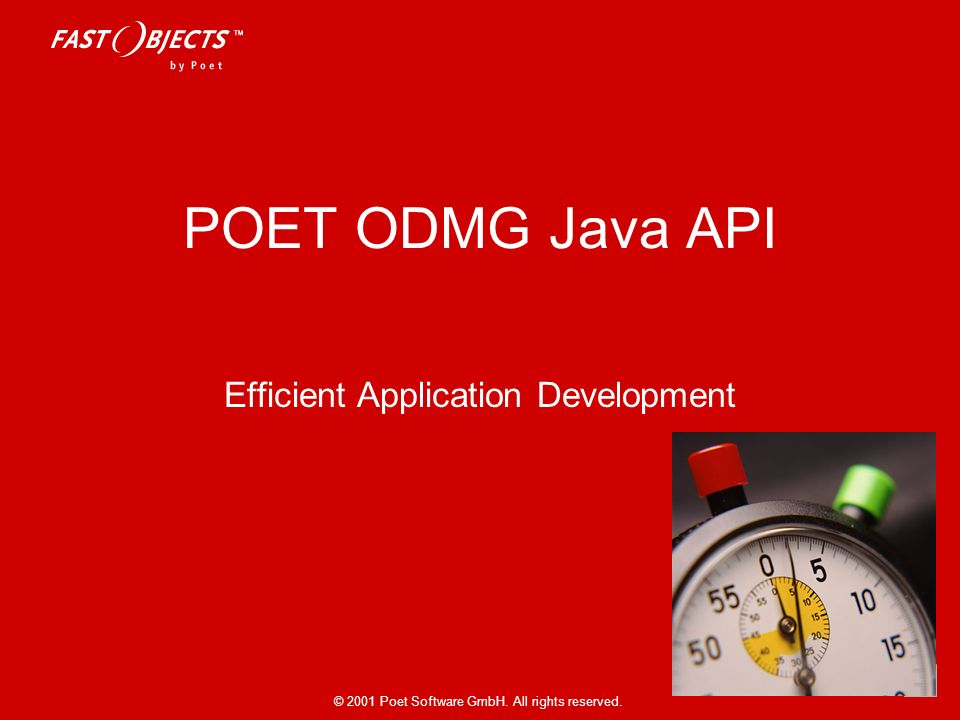 Efficient Application Development