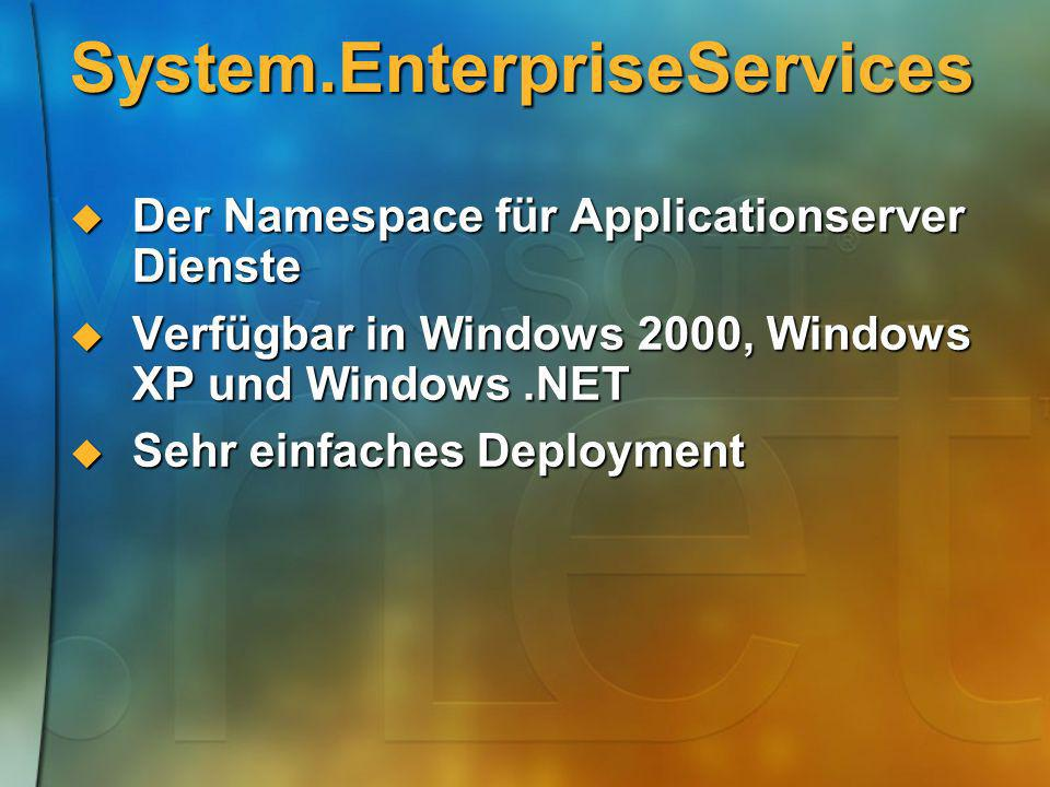 System.EnterpriseServices