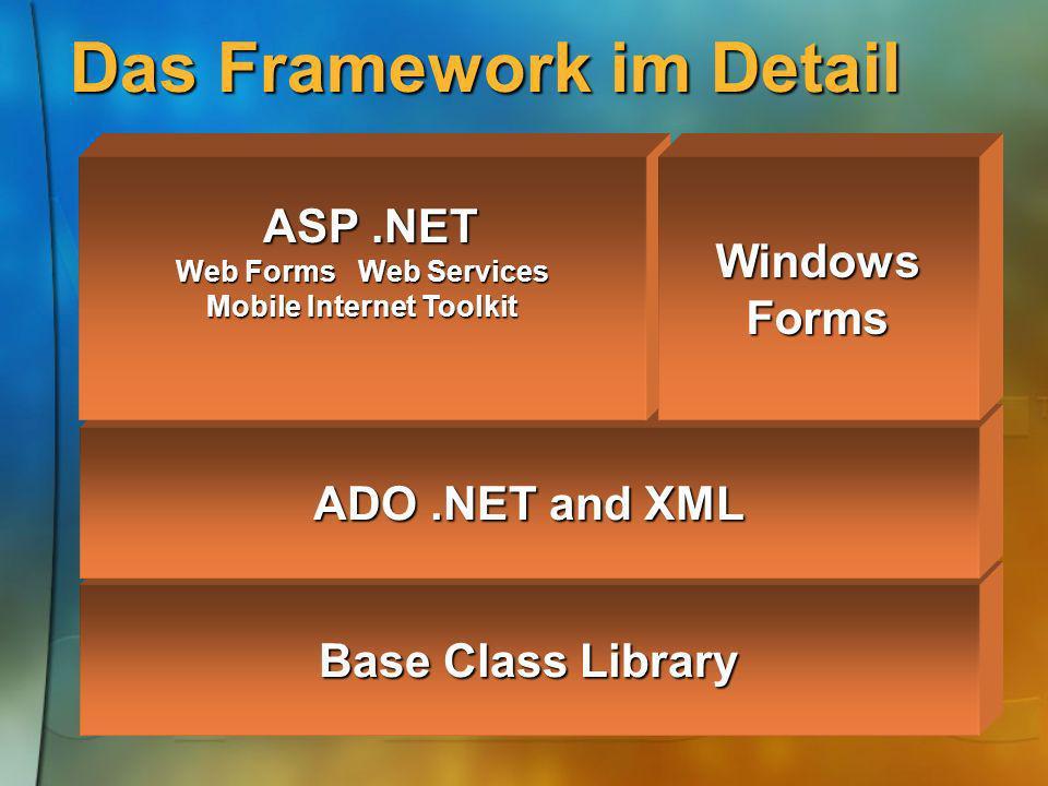 Das Framework im Detail