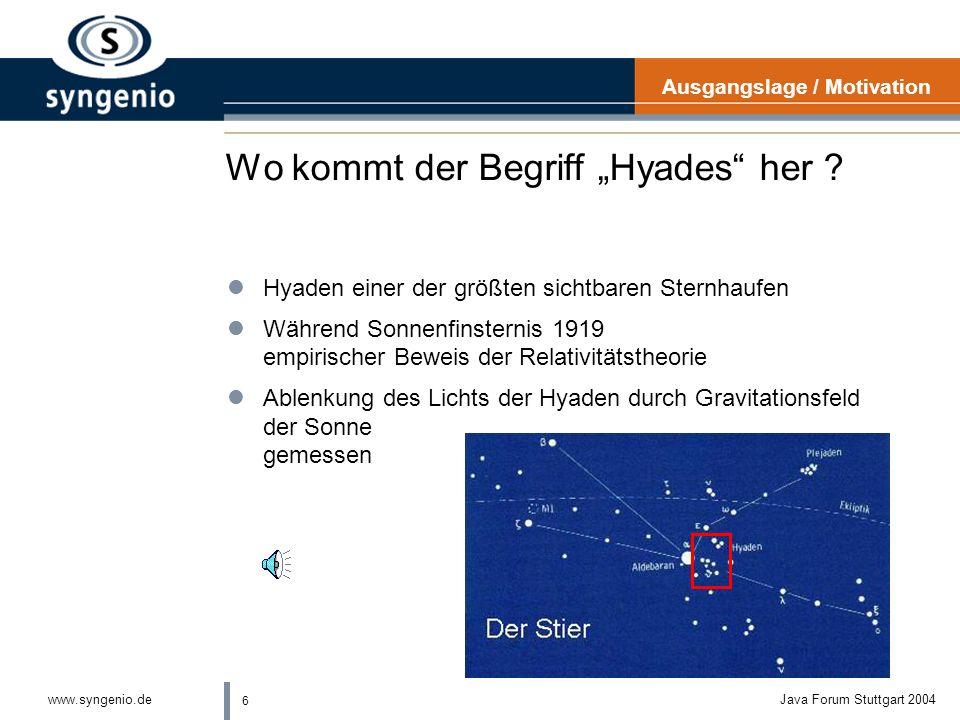 """Wo kommt der Begriff """"Hyades her"""