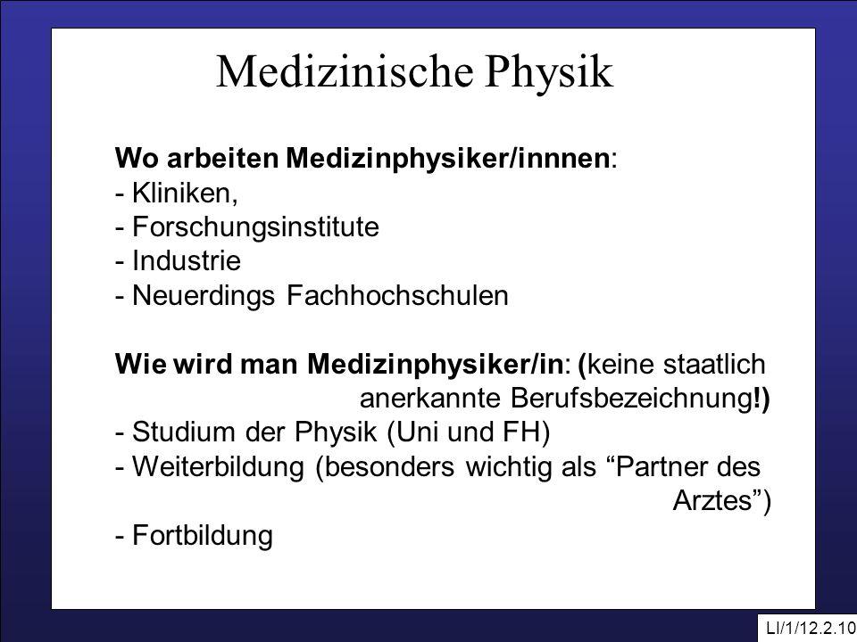 medizinische physik als wissenschaftsgebiet ppt video