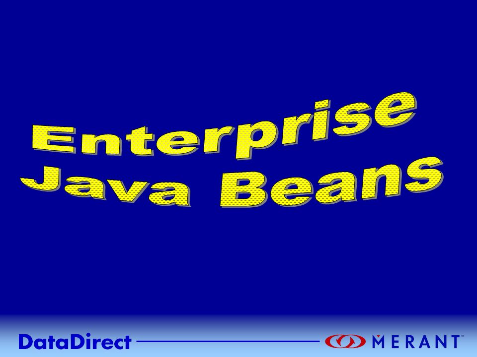 Enterprise Java Beans NOTIZEN