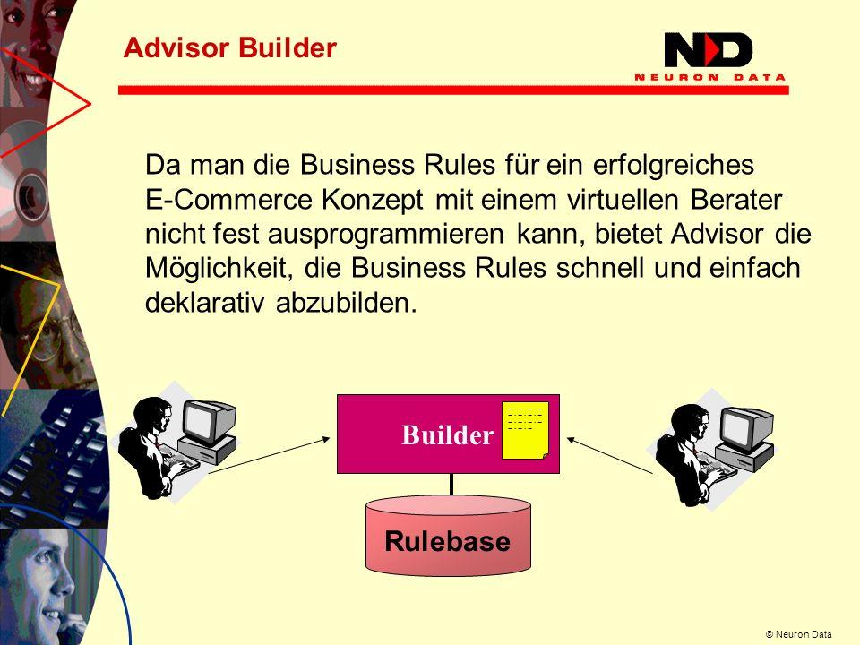 Advisor Builder Da man die Business Rules für ein erfolgreiches.