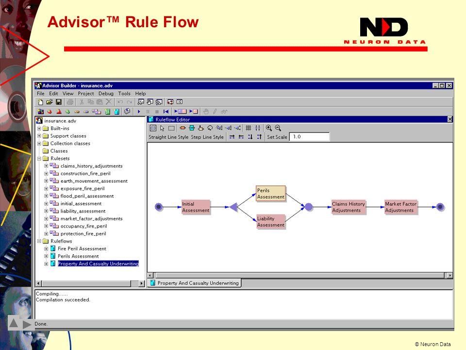 Advisor™ Rule Flow