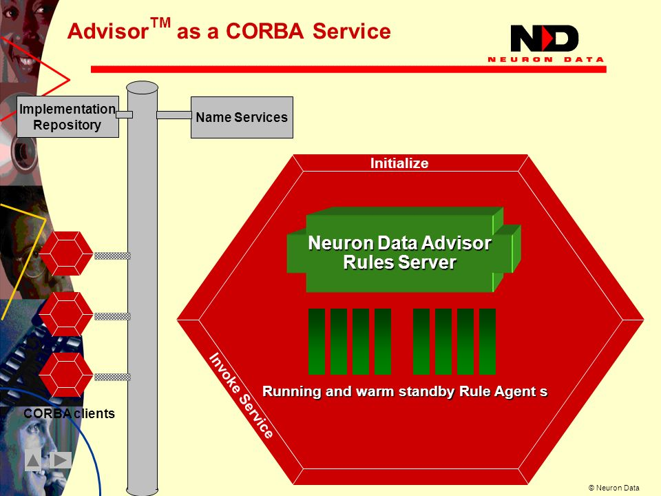 AdvisorTM as a CORBA Service