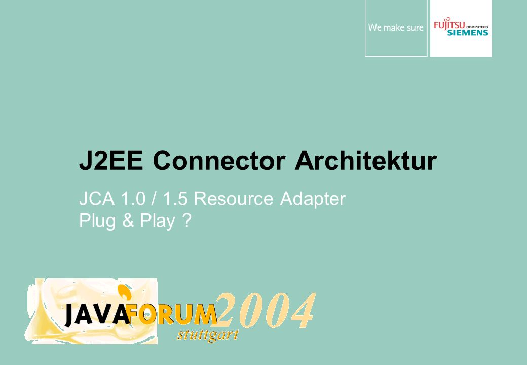 J2EE Connector Architektur