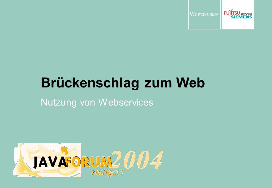 Nutzung von Webservices