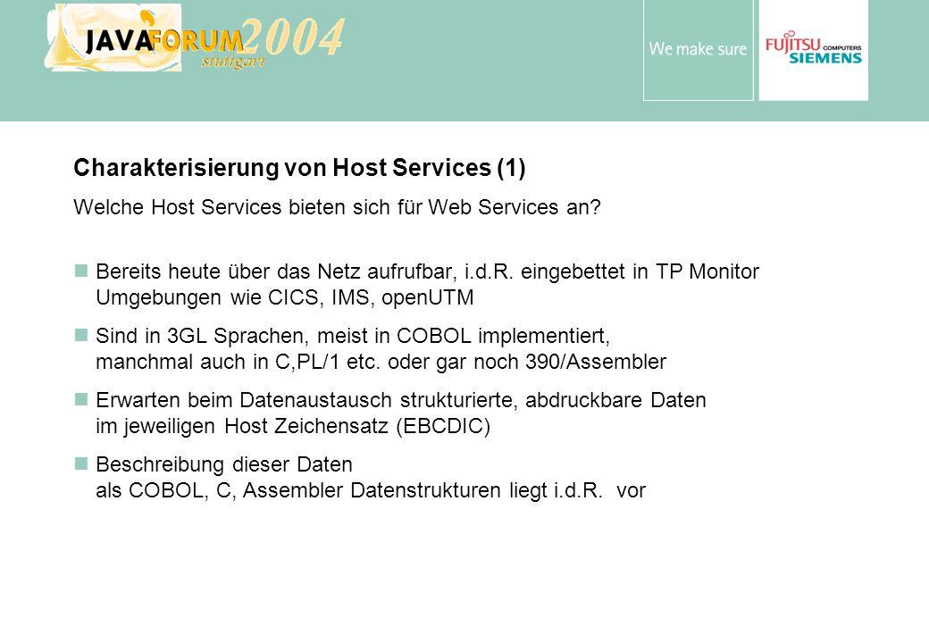 Charakterisierung von Host Services (1)