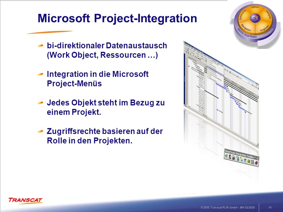 Microsoft Project-Integration