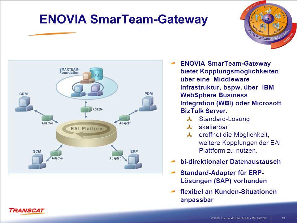 ENOVIA SmarTeam-Gateway